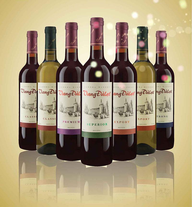Rượu vang Đà Lạt khiến nhiều người ngất ngây